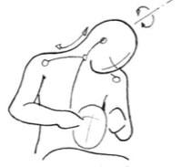Flexion du cou