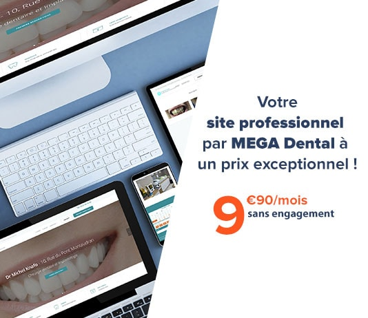Création site web - Chirurgiens Dentistes - MEGA Dental